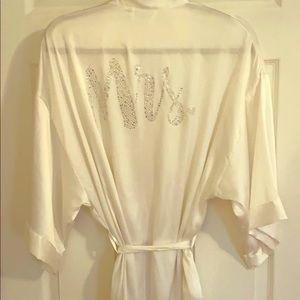 Mrs. Victoria Secret Silk Robe